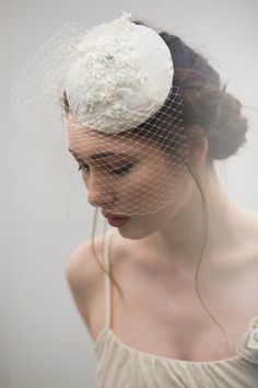 Hey, I found this really awesome Etsy listing at http://www.etsy.com/listing/152121174/beaded-hat-with-birdcage-veil