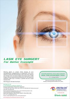 Fortis Clinique Darné: Lasik Eye Surgery – Book your appointment today. Tél: 601 2300 / 59 43 71 00
