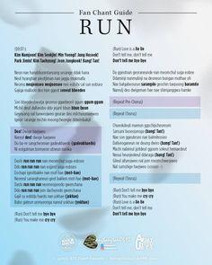Fan chant guide: Run