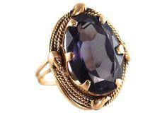 14K Gold & Alexandrite Ring