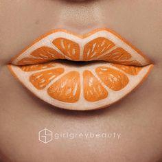 WEBSTA @ girlgreybeauty - Sliced  #LipArt