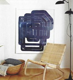 Basement of Suzanne Dimma, House & Home Magazine.