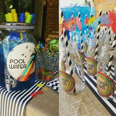 Love love love these straws & toppers! The blue pool water cooldrink was a an absolute hit!