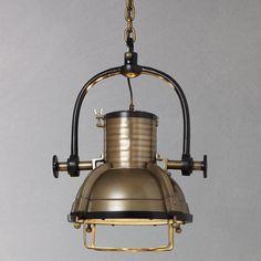 Buy Libra Vintage Spotlight, Brass online at JohnLewis.com - John Lewis