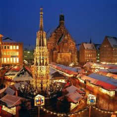 Nuremberg Christmas Market, Germany *Love this place, went last year. Looking forward to going again!