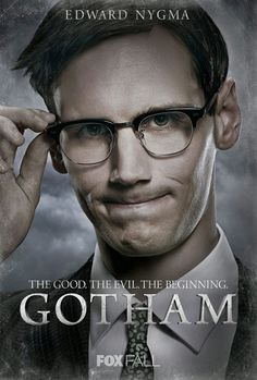 Acting newcomer Corey Michael Smith has been cast as Edward Nygma aka The Riddler in upcoming Fox project Gotham. He has only been described as an enigmatic, eclectic, cryptic forensic investigator working for the Gotham Police Department. Gotham Characters, Gotham Villains, Gotham Batman, Im Batman, The Riddler, Batman Riddler, Cory Michael Smith, Gotham News, Gotham Tv Series