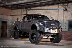 A tank of a Super Duty