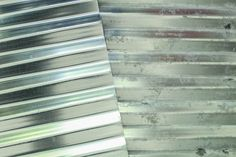 Aging New Galvanized Sheet Metal How To Get That Aged Look