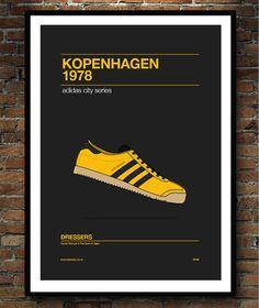 Stunning adidas Kopenhagen poster - adiart - :-)