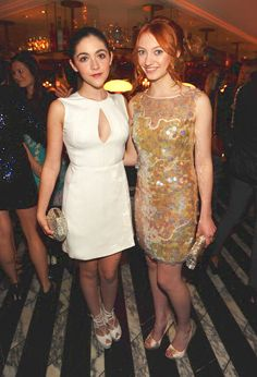 From left to right, Isabelle Fuhrman, Jackie Emerson :3