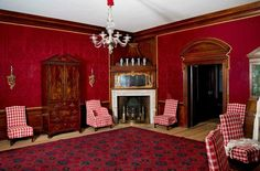 The Red Room, Governor's Palace