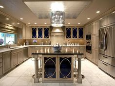 Designer Kitchen w/ Bling http://www.hgtv.com/designers-portfolio/room/traditional/outdoors/6941/index.html#/id-7432/room-kitchens/style-traditional?soc=pinterest