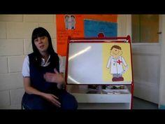 El Colegio Grilli Argentina aplicando el pensamiento Visible en niños de 2 años, con la rutina llamada: Zoom In