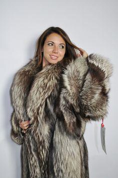 Pelz Pelzmantel Jacke Fashion Fuchs Mantel Fur Coat Fox ЛИСА ШУБА | eBay