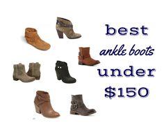 no brainer wardrobe :: ankle booties!