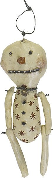 HICKETY PICKETY: ~FREEBIE Snowman Ornament~~
