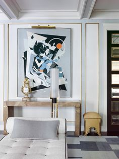 Modern Living Room in New York, NY by Jean-Louis Deniot