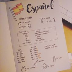 I'm trying to learn Spanish and my is my best advantage ! I'm trying to learn Spanish and my is my best advantage ! I'm trying to learn Spanish and my is my best advantage ! I'm trying to learn Spanish and my is my best advantage ! Spanish Notes, Spanish Lessons, French Lessons, Language Study, Spanish Language Learning, Dual Language, Life Hacks For School, School Study Tips, Teaching French