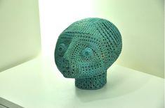 Contemporary Artists, Light Blue, Crochet Hats, Beanie, Artwork, Collection, Knitting Hats, Work Of Art, Beanies