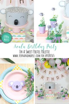 The Cutest Koala Bear Birthday Party Ever! Kids will love it! #fun365 #kidsparty #birthdayparty #themedparty #koalaparty #partyideas #parties