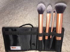 Pink Chocolate Mocha - Real Techniques Core Collection Brush Kit Review