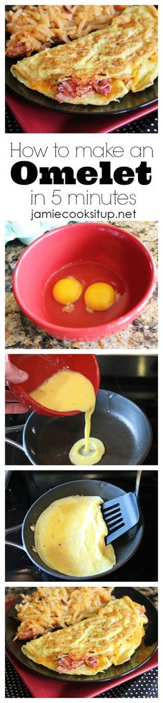 how to make an omelet in 5 minutes jamie cooks it up!
