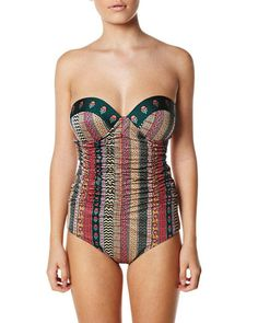 Though I would never pay $200 for a bathing suit, I love this!