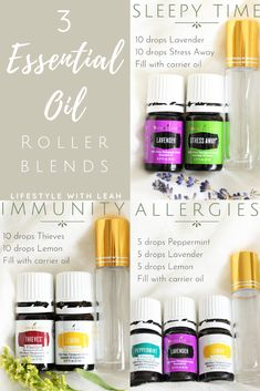Young Living 792915078124426880 - If you are new to essential oils, try out these three roller blends – Sleepy Time, Allergies and Immunity! Source by lifestylewithleah Essential Oils For Kids, Essential Oils Guide, Young Living Essential Oils, Immunity Essential Oils, Essential Oils Young Living Recipes Rollers, Young Living Oils For Allergies, Young Living Eczema, Mixing Essential Oils, Young Living Anxiety