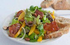 Spaanse salade met serranoham
