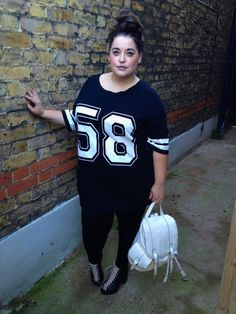 mynameisfahi.blogspot.com - http://www.daniellevanier.co.uk/ http://www.yoursclothing.co.uk/P/Black_Varsity_No58_Print_Jersey_Cotton_Mix_T-Shirt-(21604).aspx
