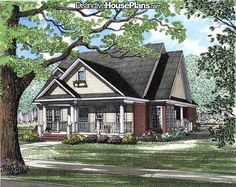 House Plan #026256 - Windstone Place - Distinctive House Plans