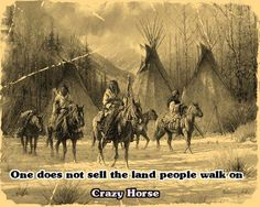 Crazy Horse's Words of Wisdom