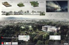 Gallery Announces winners of the design contest of the Tropicario of the Botanical Garden of Bogotá - 6 Famous Architecture, Architecture Panel, Cultural Architecture, Architecture Magazines, Architecture Portfolio, Architecture Drawings, Architecture Details, Landscape Architecture, Architecture Presentation Board