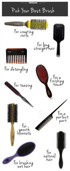 Caring for your hair can be a hard thing to do, once you let it go. But you do not have to worry about your hair any longer. The tips in this article are here to help you figure out how to manage your hair for good and make it . Natural Hair Tips, Natural Hair Styles, Tips Belleza, Wet Hair, Hair Care Tips, Hair Tools, Hair Styling Tools, About Hair, Hair Brush