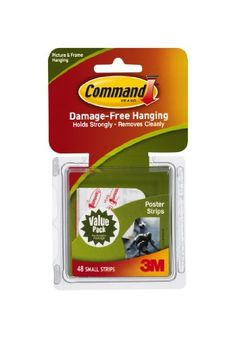 Command Poster Adhesive Value Pack, 48-Strip Command,http://www.amazon.com/dp/B001KYSAN4/ref=cm_sw_r_pi_dp_CVdYsb11NX6DNF4N