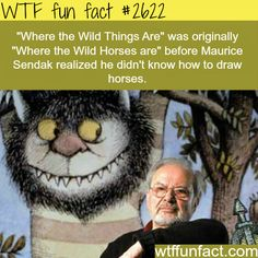 Where the Wild Things Are -WTF funfacts