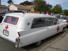 1960'S Cadillac Ambulance