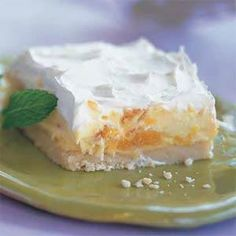 Mandarin Cream Delight Recipe | MyRecipes.com