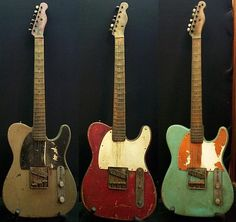 Beaten and battered Telecasters (from old thread) - Telecaster Guitar Forum