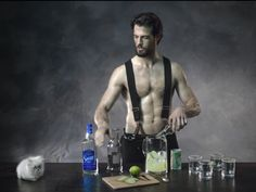 Thomas Beaudoin - Fireman with the kitten and margaritas :)