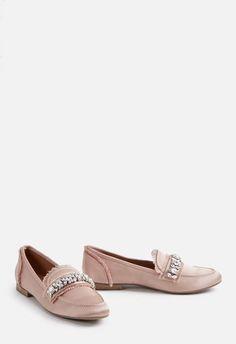 5a9439a9b0e44 JustFab Evelina Flat Womens Pink Size 8.5 Business Shoes