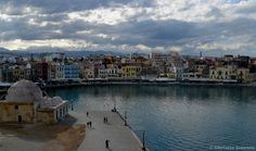@ Chania, Crete  ~ Chania from above !!