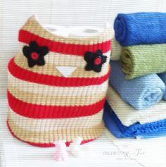 Owl  Basket for Bath