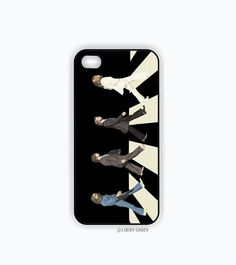 The Beatles Abbey Road Iphone 5 case, Iphone 5s case, Hard Plastic Case