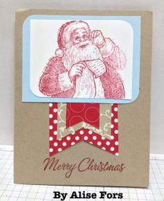 Christmas Cards from Friends, Stampin' Up!, stampwithbrian.com, by Alise Fors