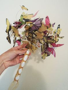 Who says that butterflys are for little girls? OR that you have to be getting married to have a bouquet? Perfect for brides and birthday girls!!