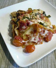 Healthy Slow Cooker Vegetarian Lasagna Recipe | POPSUGAR Fitness