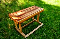 Reclaimed Barnwood Bench crafted by L. Design Reclaimed.