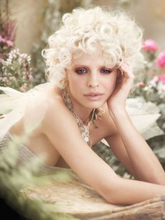 """Pastel Perfect     The make-up palette  and applications  are nature-inspired,  seeing a return to  color in make-up with  techniques that create  a more lived-in, less  'done' look,"""" says Janell  Geason, Artistic Director  for Aveda make-up.  """"The new collection of  colors starts with pure  pastels like the fi rst  buds of spring, and  builds into lush, highsummer  color."""""""