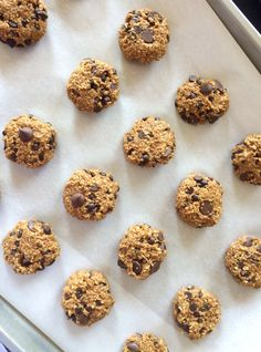 guilt-free chocolatey pumpkin cookies | chronicles of an almost rd